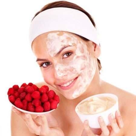 Papaya and Yogurt face mask